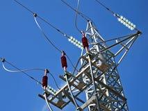 Elektrizitäts-Kontrollturm Lizenzfreie Stockfotos