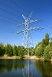 Elektrizitäts-Kontrollturm Lizenzfreie Stockbilder