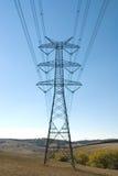 Elektrizitäts-Pfosten Stockbild