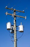 Elektrizitäts-Verteilung Lizenzfreie Stockfotos