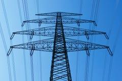 Elektrizitätsgondelstiel Lizenzfreies Stockfoto