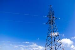 Elektrizitätsgondelstiel Lizenzfreie Stockfotografie