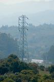 Elektrizitätskontrollturm Lizenzfreies Stockfoto