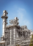 Elektrizitätskraftwerkgebäude Lizenzfreies Stockbild