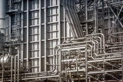 Elektrizitätskraftwerkrohrsystem Lizenzfreies Stockfoto