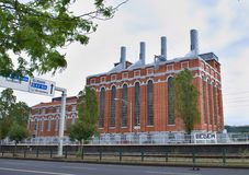 Elektrizitätsmuseum Lissabon Lizenzfreie Stockfotos