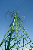 Elektrizitätspol Lizenzfreie Stockfotos