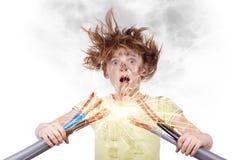 Elektrizität Stockfotografie
