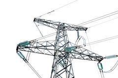 Elektrizitätsgondelstiel Stockbilder