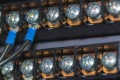 Elektro Aanslutingen stock fotografie