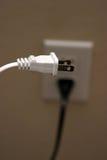 Elektro afzet binnen Stock Fotografie