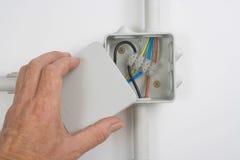 Elektro bedrading Stock Foto