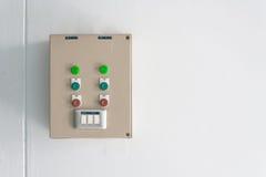Elektro controle Royalty-vrije Stock Foto's
