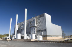 Elektro Elektrische centrale Stock Fotografie