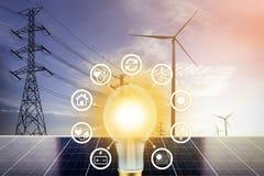 Elektro Energie stock afbeeldingen