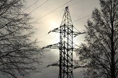 Elektro Energie Royalty-vrije Stock Foto