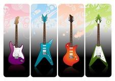 Elektro gitaren Stock Foto's