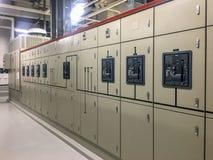 Elektro hoofddistributie stock afbeelding