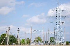 Elektro hulpkantoor Stock Foto's