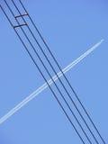 Elektro kabel Stock Foto