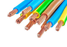 Elektro kabels Stock Afbeeldingen
