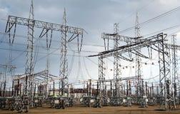 Elektro krachtcentrale Royalty-vrije Stock Foto