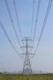 Elektro lijn Royalty-vrije Stock Foto's