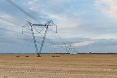 Elektro lijn Stock Afbeeldingen
