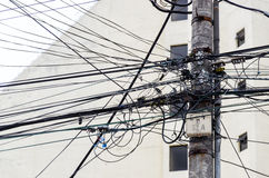 Elektro machtslevering Royalty-vrije Stock Foto