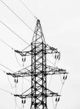 Elektro netwerk Royalty-vrije Stock Afbeeldingen