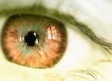 Elektro oog royalty-vrije stock fotografie