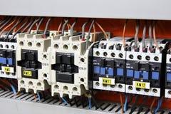 Elektro paneel Royalty-vrije Stock Afbeeldingen