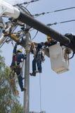 Elektro reparatie royalty-vrije stock afbeelding