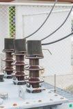 Elektro schakelaars Stock Afbeeldingen
