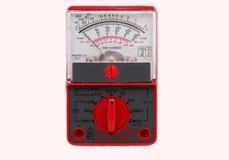 Elektro testende meter Stock Foto's