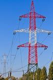 Elektro Toren/Nut Pool/Macht Pool Royalty-vrije Stock Fotografie