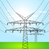 Elektro torens Royalty-vrije Stock Afbeelding