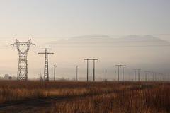 Elektro torens royalty-vrije stock foto's