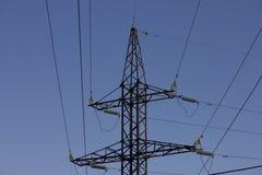 Elektro torn Arkivfoton