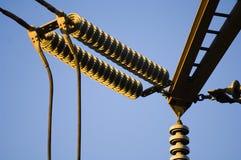 Elektro transformator Royalty-vrije Stock Foto's