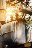 Elektro transformator royalty-vrije stock fotografie