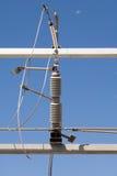 Elektro transformator Royalty-vrije Stock Afbeeldingen