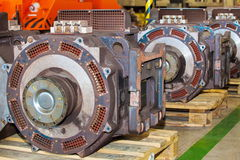 Elektroactuators voor onderhoud van metrowagens royalty-vrije stock foto's