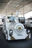 Elektroauto für Besucher von Olympischen Spielen Lizenzfreie Stockbilder