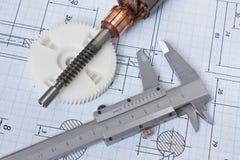 elektrobodza rysunkowy rotor obrazy stock