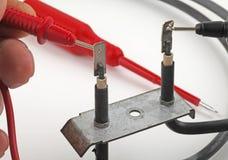 Elektrocontrole stock foto