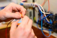 Elektrodingen Stock Foto