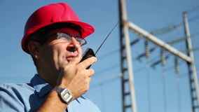 Elektroingenjör At Work stock video
