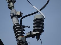 Elektroisolatie stock afbeeldingen