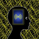 Elektromagnetische Verontreiniging Royalty-vrije Stock Afbeeldingen